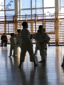 Hinode karate klub a Sawada edzőtáborban